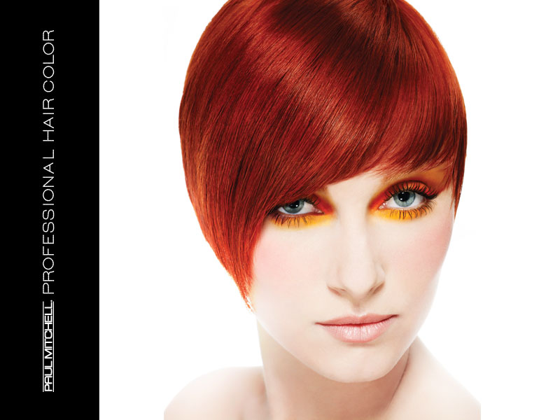 Brilliant Red Hair Color - Paul Mitchell