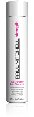 Paul Mitchell Super Strong Daily Shampoo available at the Colorist Bar & Salon in Cleveland