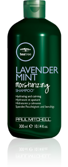 Paul Mitchell Lavender Mind Moisturizing Shampoo is available at The Colorist hair salon