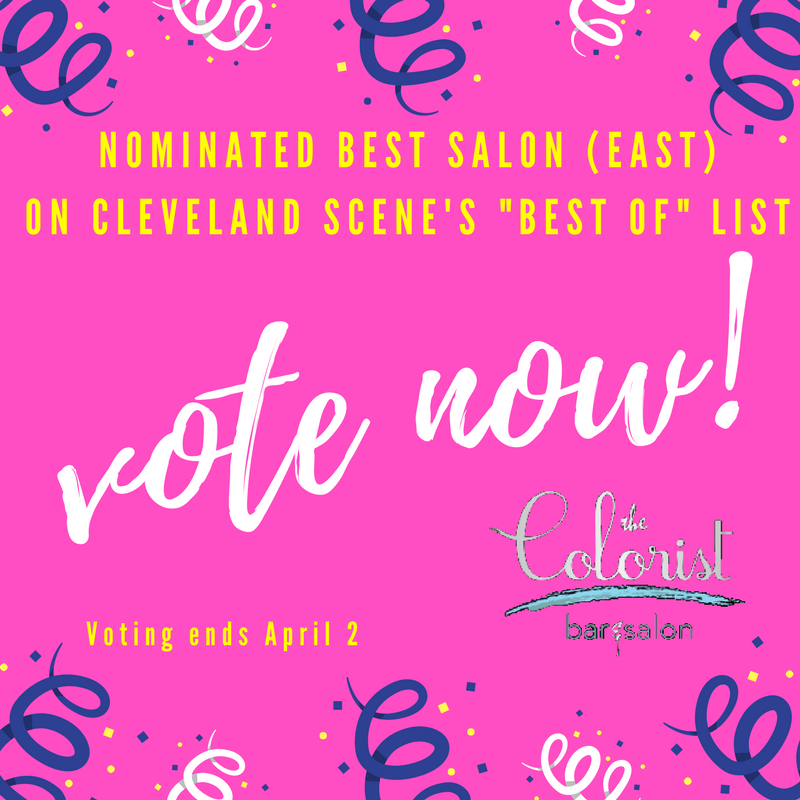 Vote for The Colorist on Cleveland Scene's Best Of List!