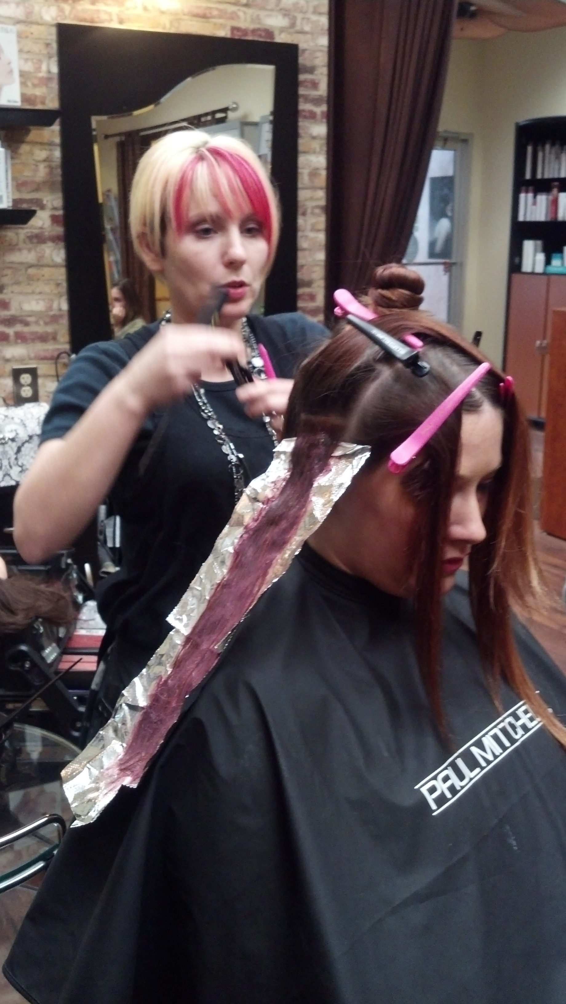 Hair Color Education Class for The Colorist Salon