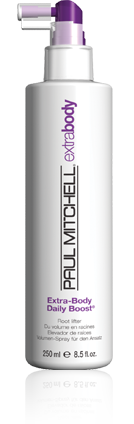 Paul Mitchell Extra Body Daily Boost at The Colorist Bar & Salon Cleveland, Ohio