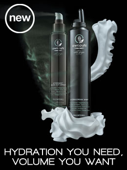 Hydromist Blow-Out Spray and Hydrocream Whip