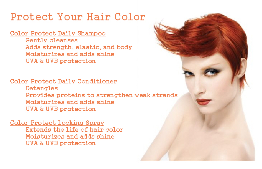 Protect Your Hair Color | The Colorist Bar and Salon