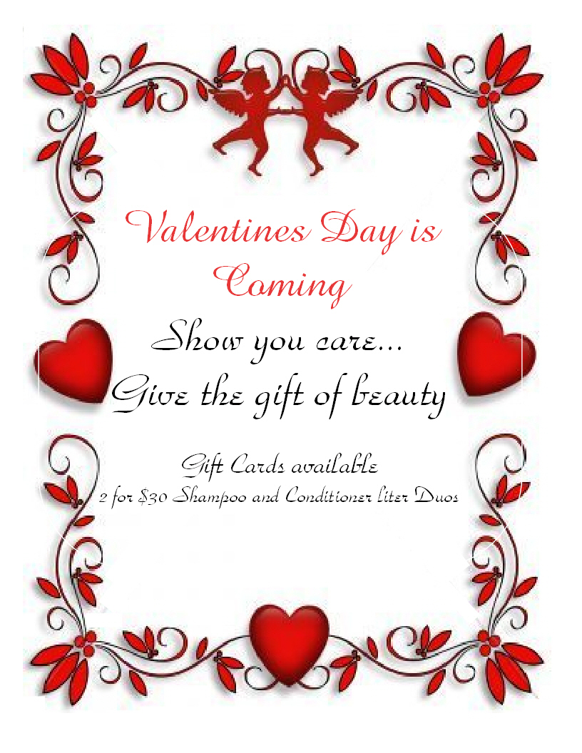 Valentine's Day Discounts | The Colorist Bar and Salon